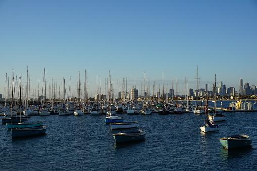 St Kilda Harbor in Australia
