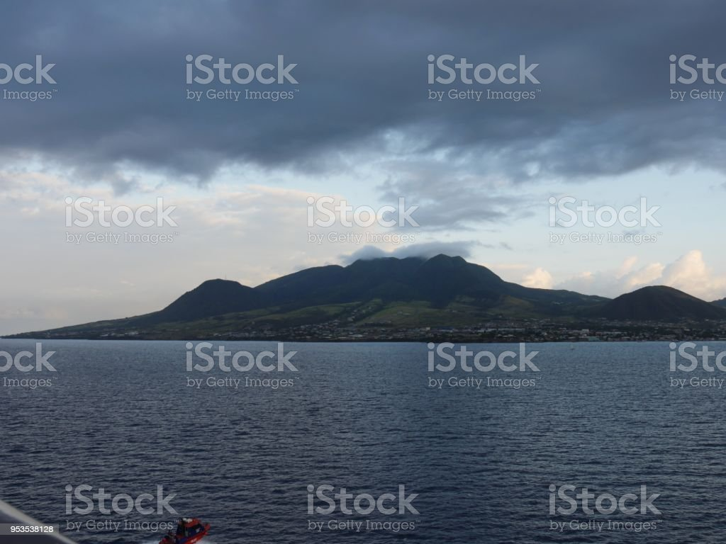 St. Kitts and Nevis, West Indies stock photo