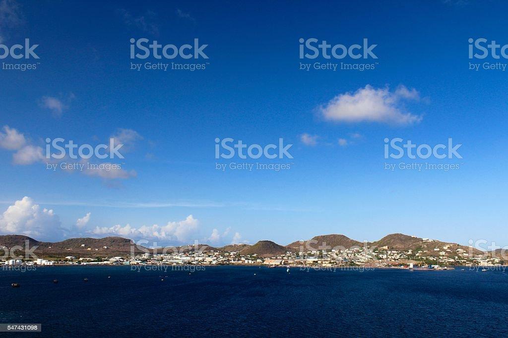 St. Kitts stock photo