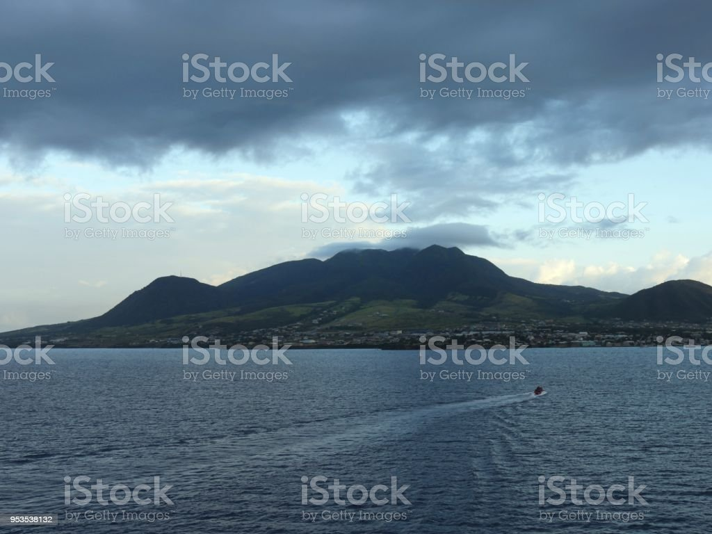 St. Kitts, West Indies stock photo