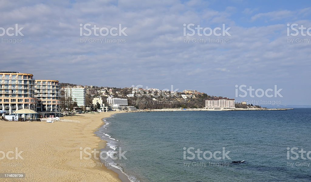 St. Konstantin and Elena resort, near Varna, Bulgaria stock photo