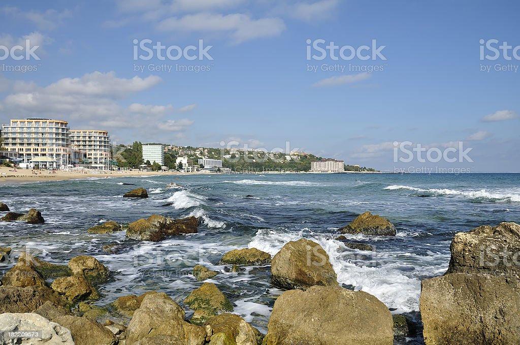 St. Konstantin and Elena resort, near Varna, Bulgaria stock photo