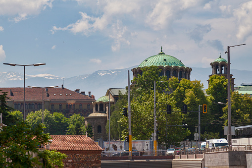 St Kyriaki Cathedral Church In Sofia Stock Photo - Download Image Now