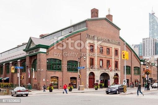 St Lawrence Market In Toronto Stock-Fotografie und mehr Bilder von Architektur