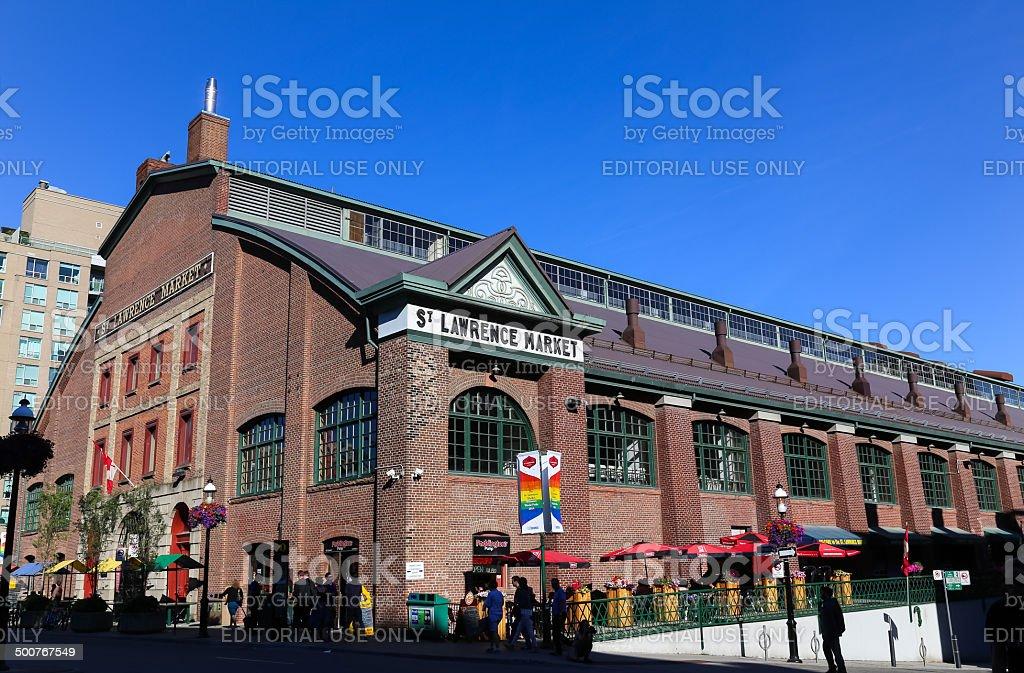 St Lawrence Market royalty-free stock photo