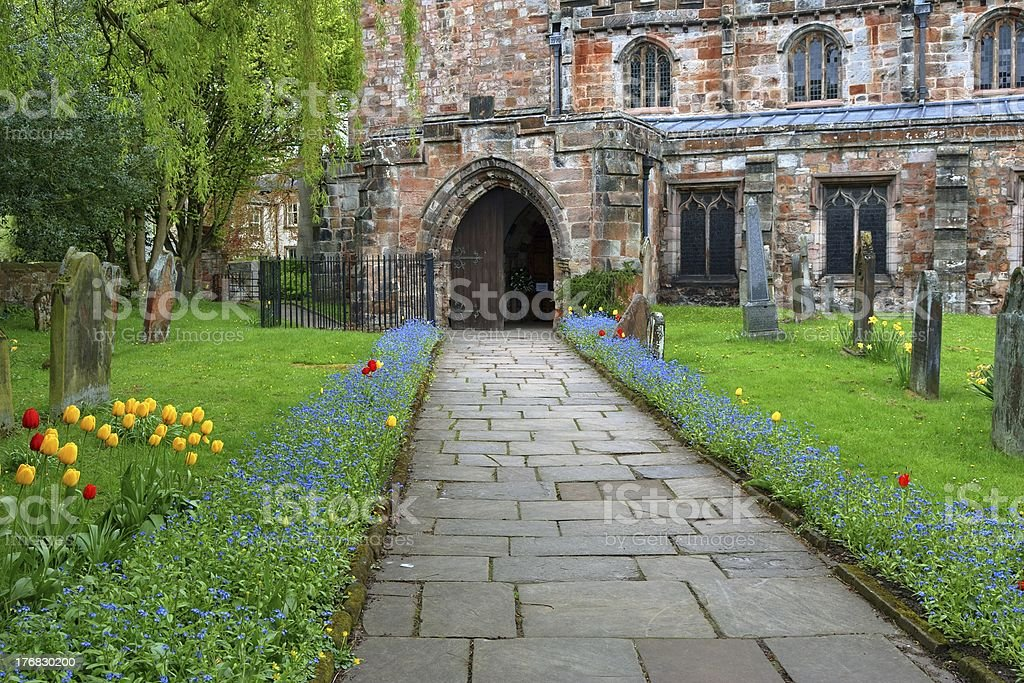 St Lawrence's Church, Appleby stock photo