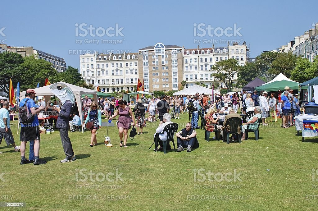 St. Leonards Festival, England royalty-free stock photo