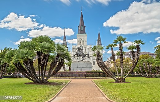 564604962 istock photo St. Louis Cathedral in New Orleans, LA 1067842722