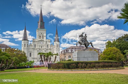 564604962 istock photo St. Louis Cathedral in New Orleans, LA 1067842844
