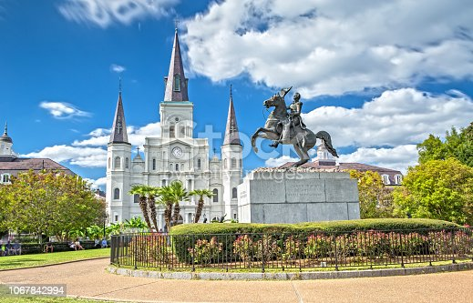 564604962 istock photo St. Louis Cathedral in New Orleans, LA 1067842994