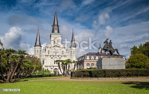 564604962 istock photo St. Louis Cathedral in New Orleans, LA 1067843376