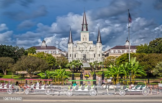 564604962 istock photo St. Louis Cathedral in New Orleans, LA 1067843452