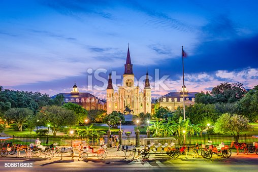 564604962 istock photo St. Louis Cathedral New Orleans 808616892