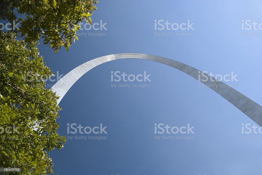 St Louis Gateway Arch royalty-free stock photo