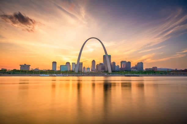 St. Louis, Missouri, USA stock photo
