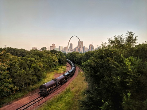 St Louis Skyline Stock Photo - Download Image Now