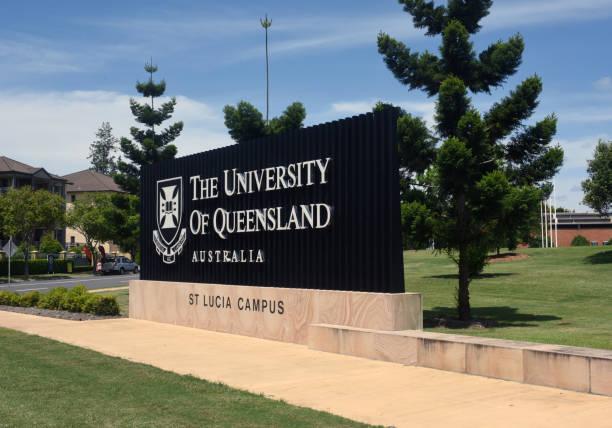 st lucia, queensland, australia: st lucia campus parklands - queensland foto e immagini stock