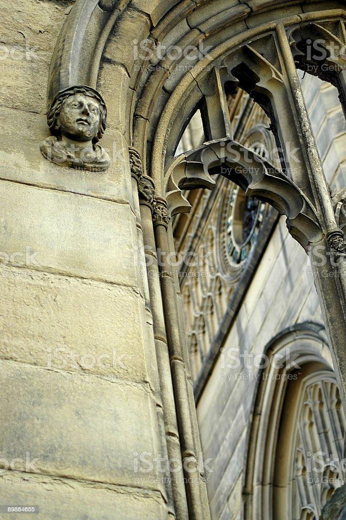St. Luke's Church, Liverpool 2 Lizenzfreies stock-foto