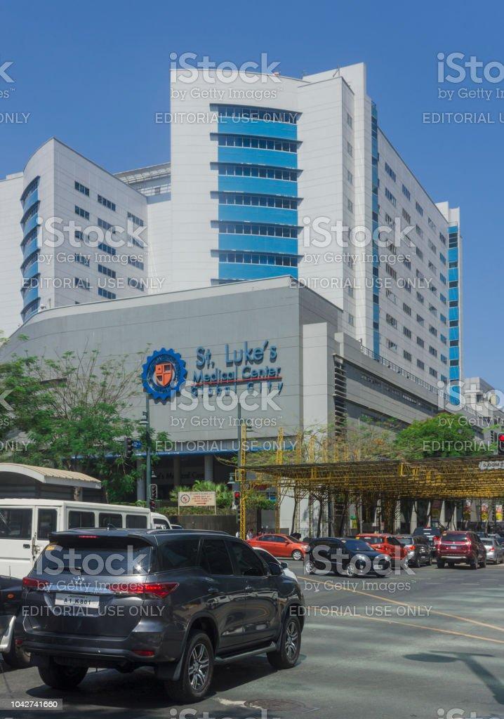 St. Lukes Medical Center in Bonifacio Global City in Taguig, Metro Manila, Philippines stock photo