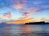 Simpson Bay sunset