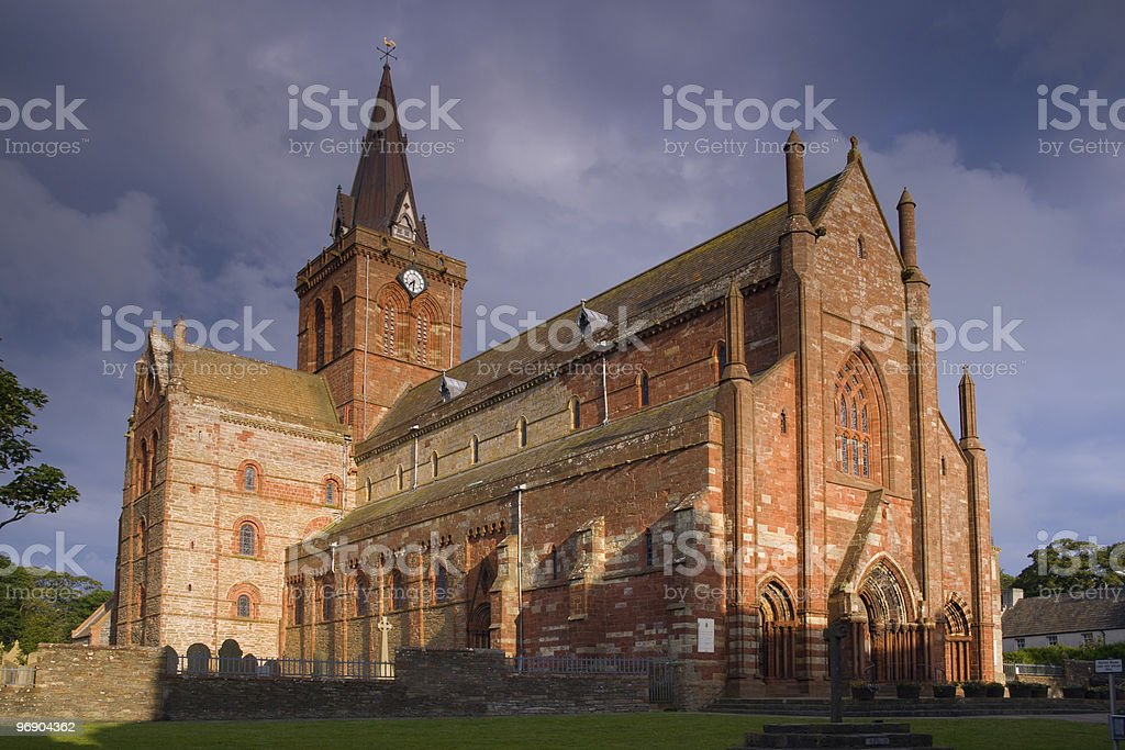st magnus cathedral royalty-free stock photo