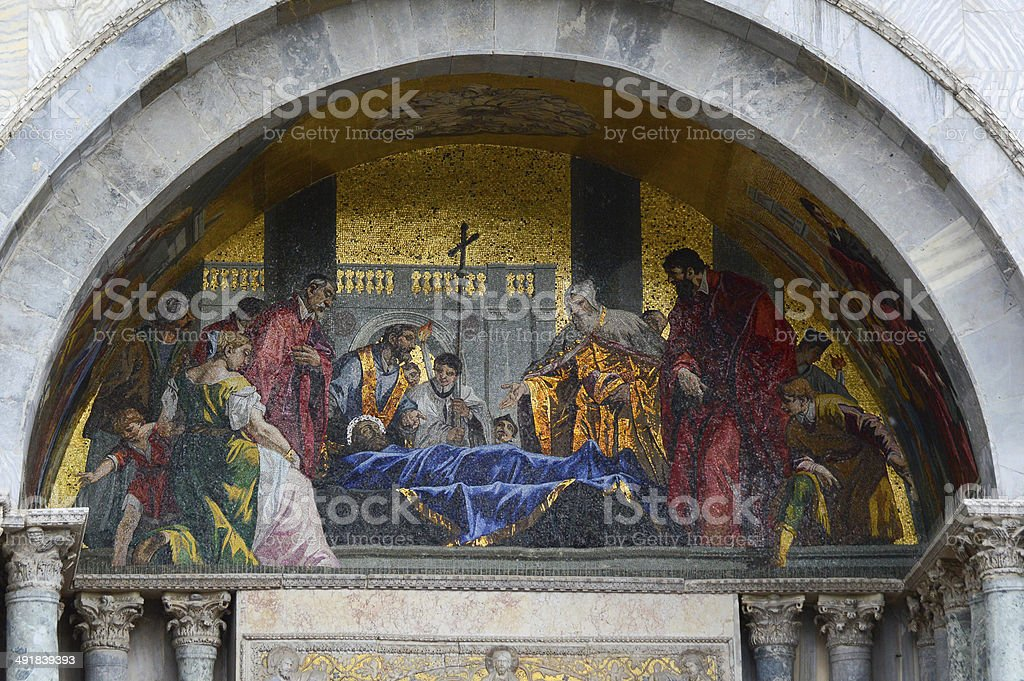 St Marco Cathedrale royalty-free stock photo