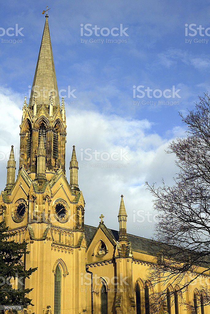 St Margarets Lee Church 1 royalty-free stock photo