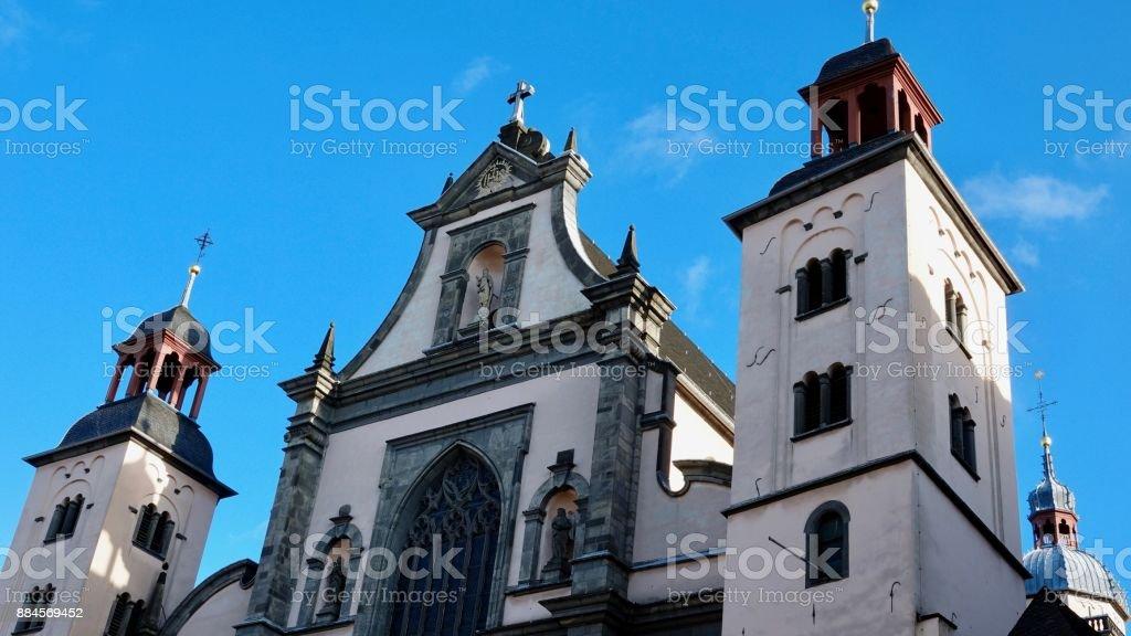 St. Maria Himmelfahrt (Ascension) Church stock photo