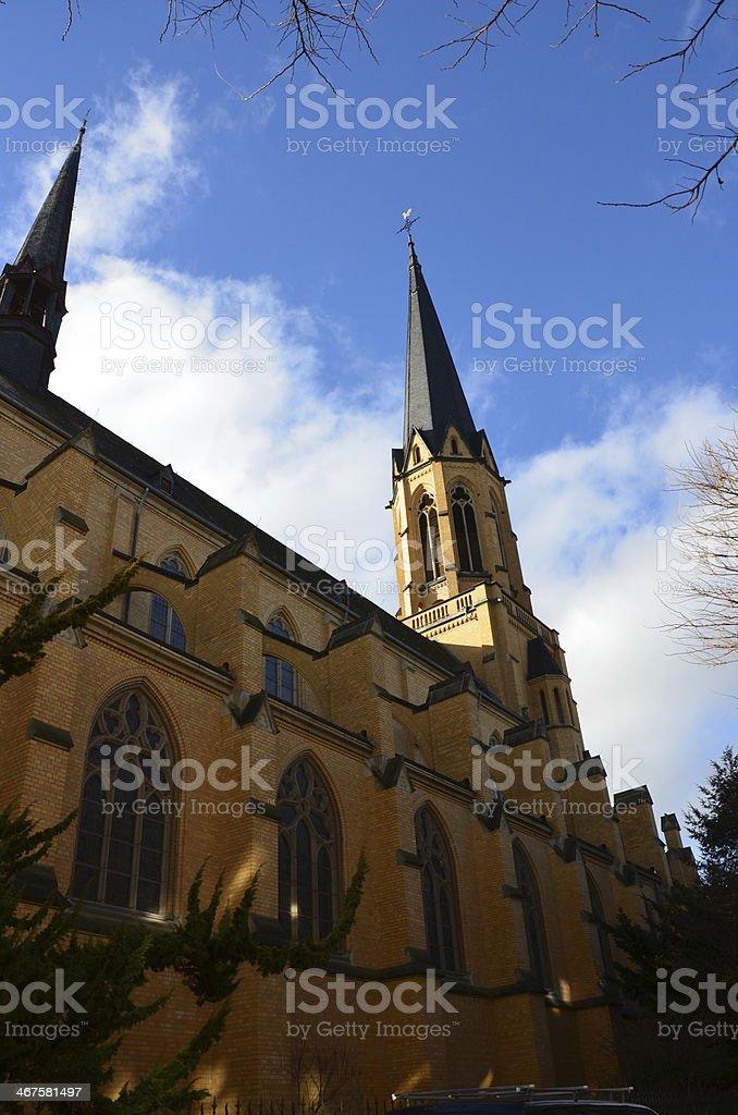 St Marien, Bonn stock photo