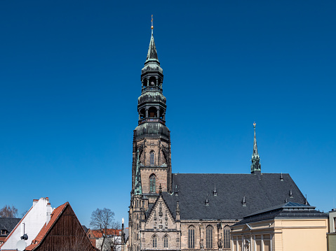 St. Marien church cathedral in Zwickau East Germany