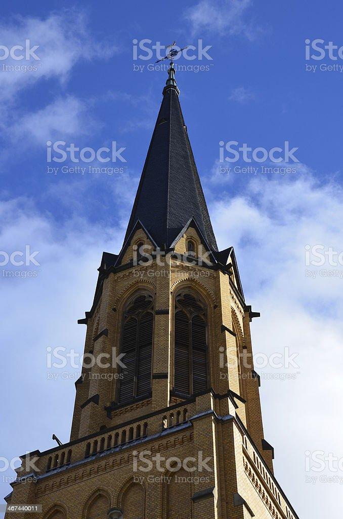 St Marien stock photo