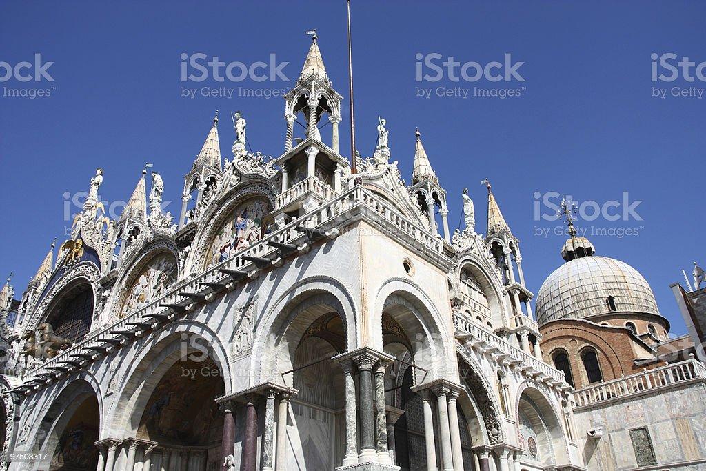 St Mark's Basilica royalty-free stock photo