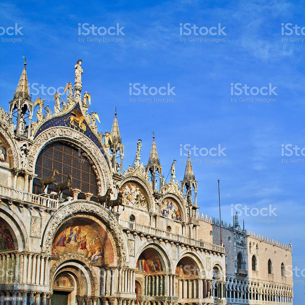 St. Mark's Basilica, Venice, Italy stock photo