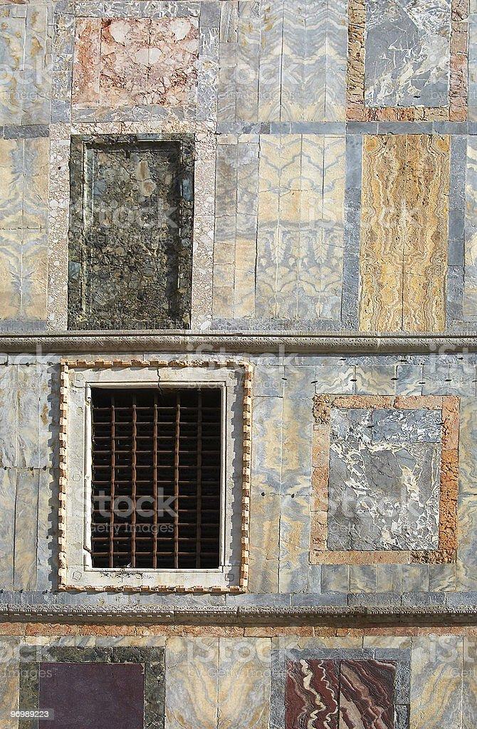 St. Mark's basilica wall decorations royalty-free stock photo