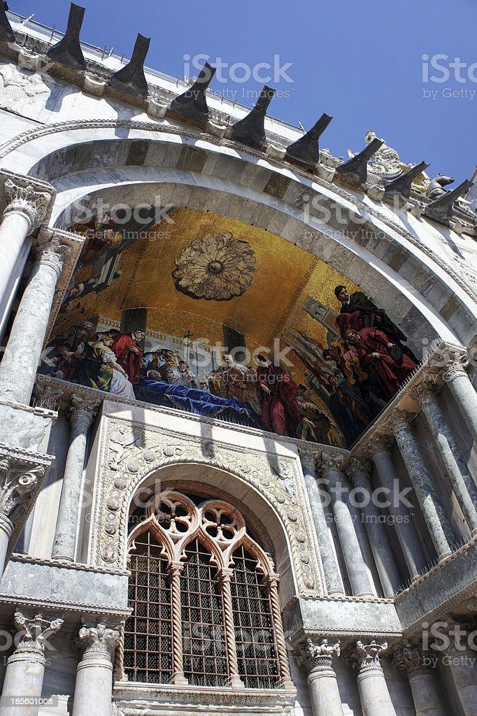 St. Mark's Cathedral, Venice, Italy royalty-free stock photo