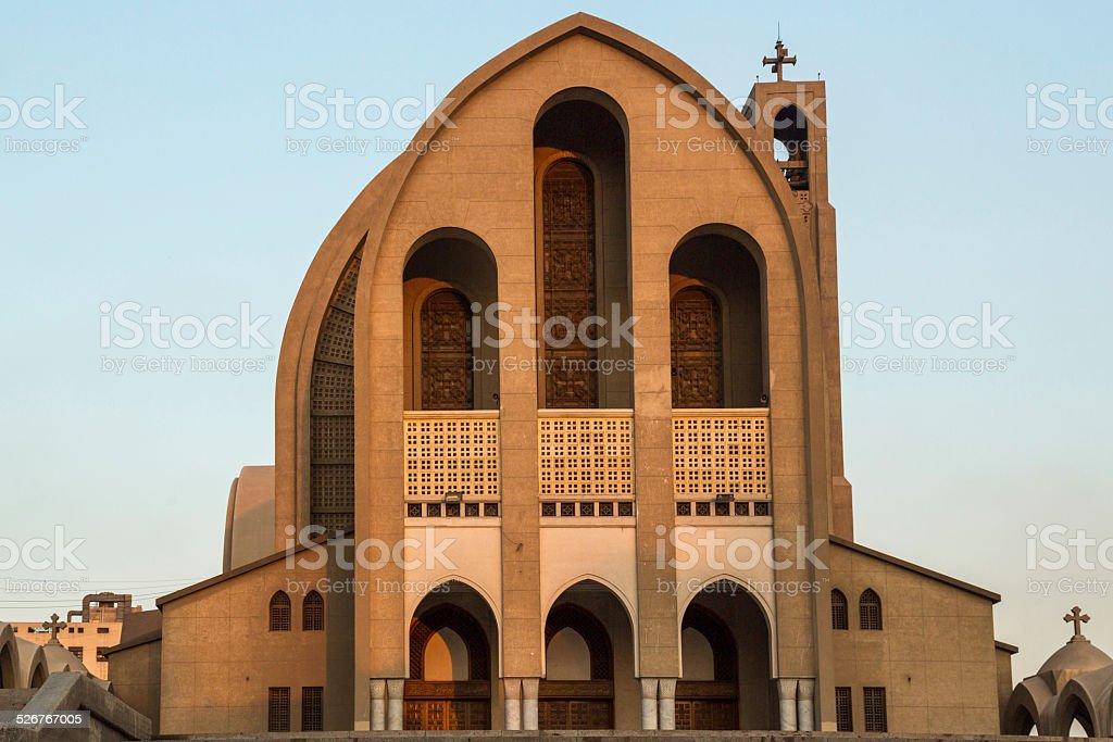 St. Mark's Coptic Orthodox Cathedral stock photo