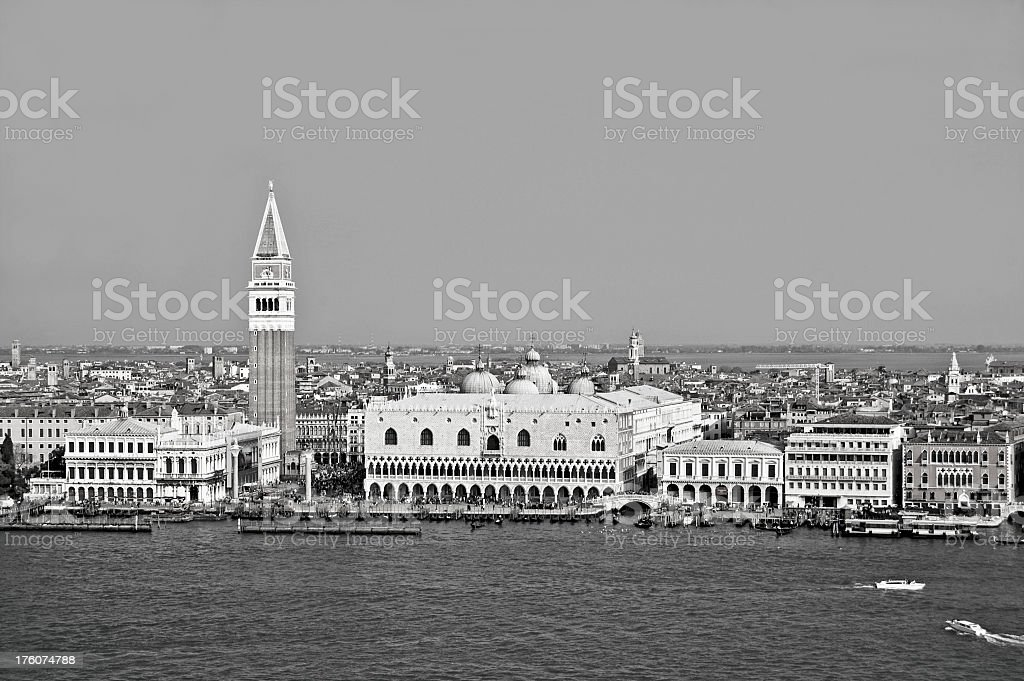 St. Marks In Black and White stock photo