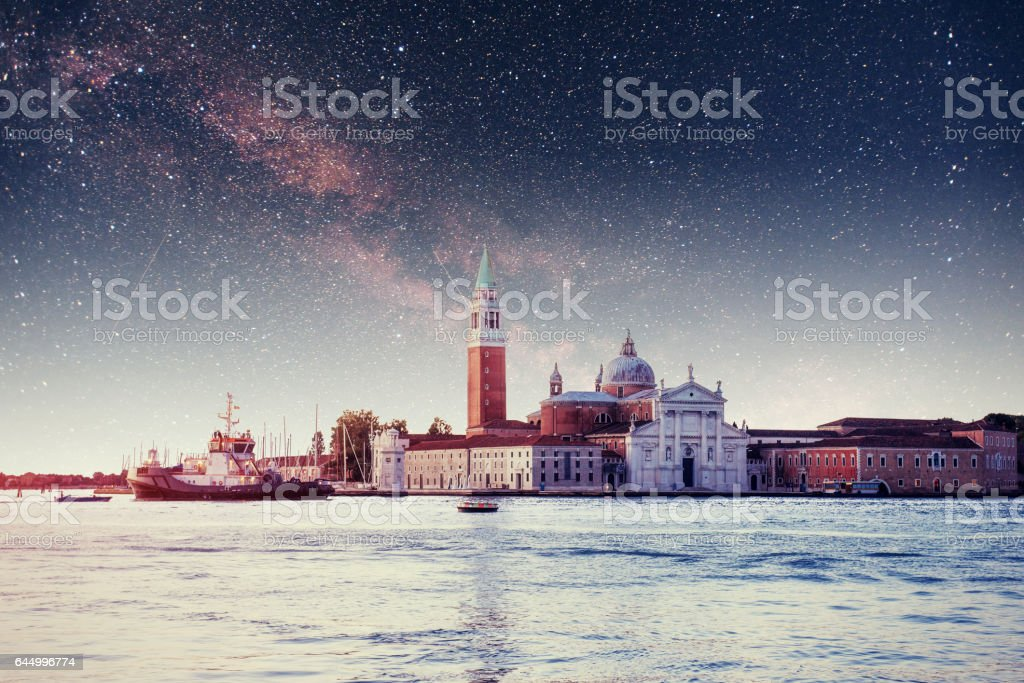 St Mark's Square and Campanile bell stock photo