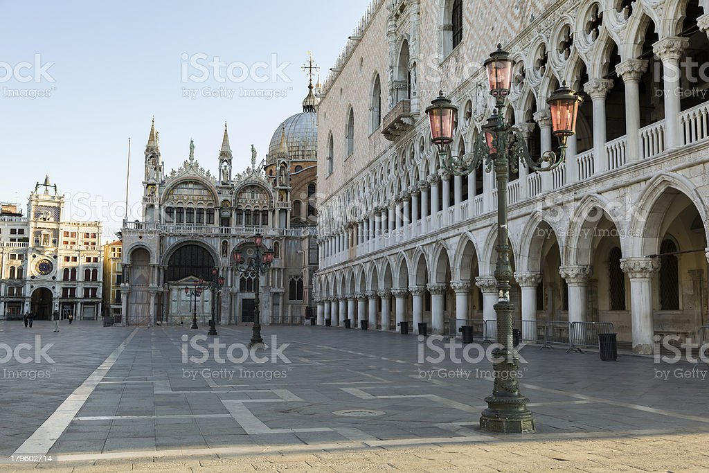 St. Mark's Square royalty-free stock photo