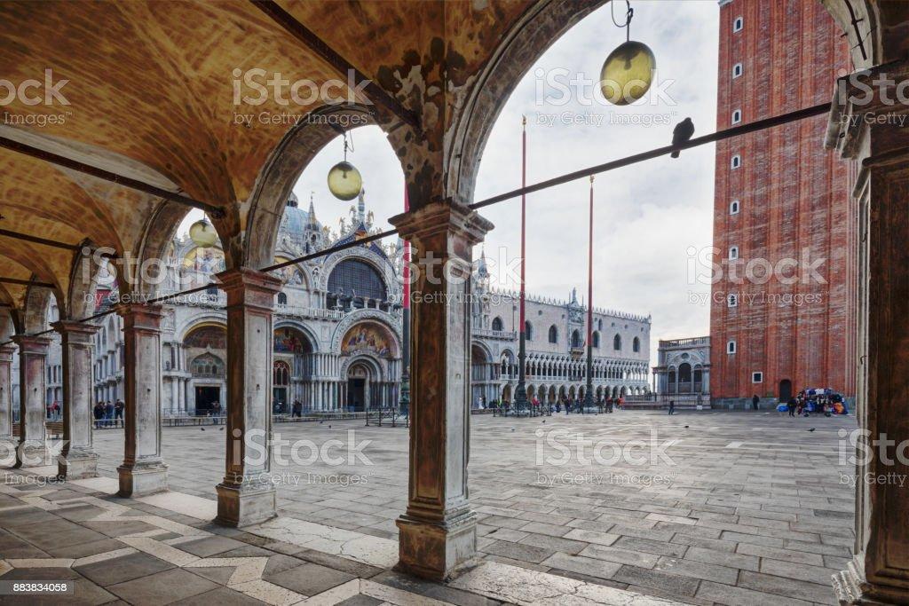 St. Mark's Square, Venice, Italy stock photo