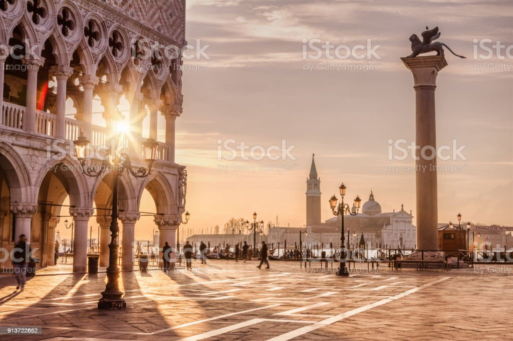 St. Mark's Square, Venice, Italy stock photo