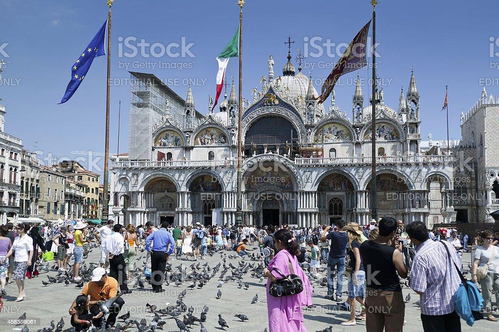 St Mark's Square Venice royalty-free stock photo