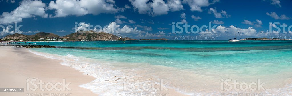 St Martin, Caribbean stock photo