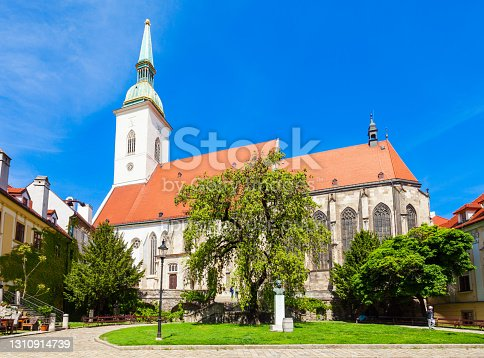 The St. Martin Cathedral is a roman catholic church in Bratislava, Slovakia. St Martin Cathedral is the largest and one of the oldest churches in Bratislava.