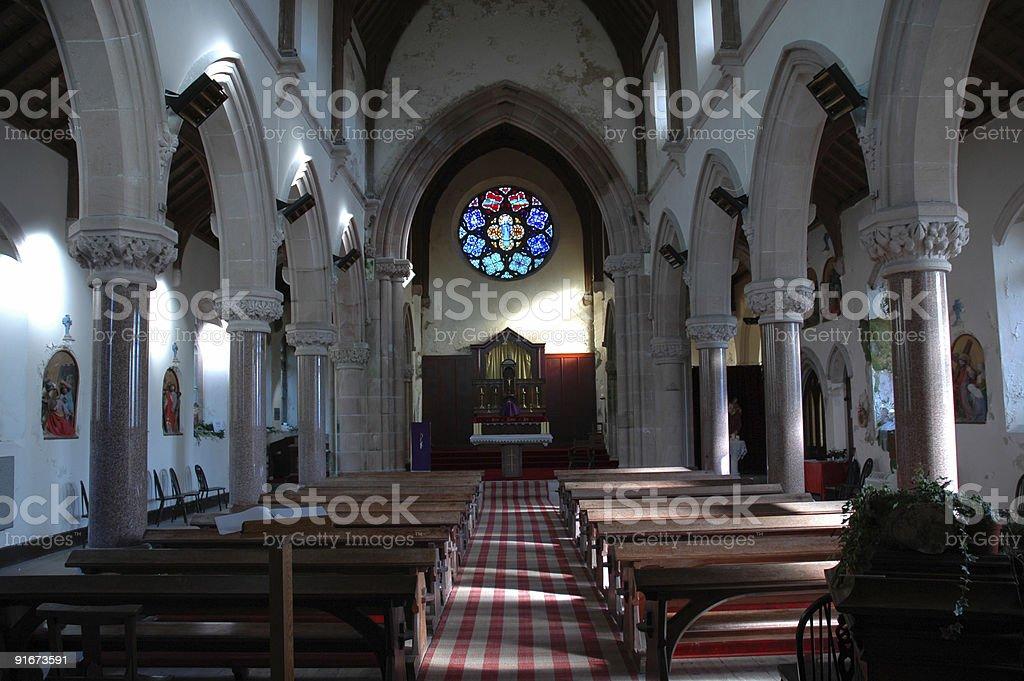 St Mary and Finan Church stock photo
