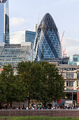 istock 30 St Mary Axe, Swiss Re Building, The Gherkin 1187344995