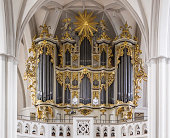 St. Mary Church, known in German as the Marienkirche,  located in central Berlin, near Alexanderplatz.Interior - organ