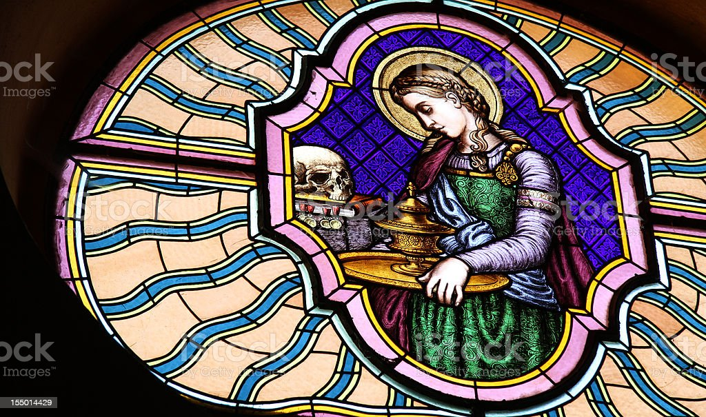St. Mary Magdalene stock photo