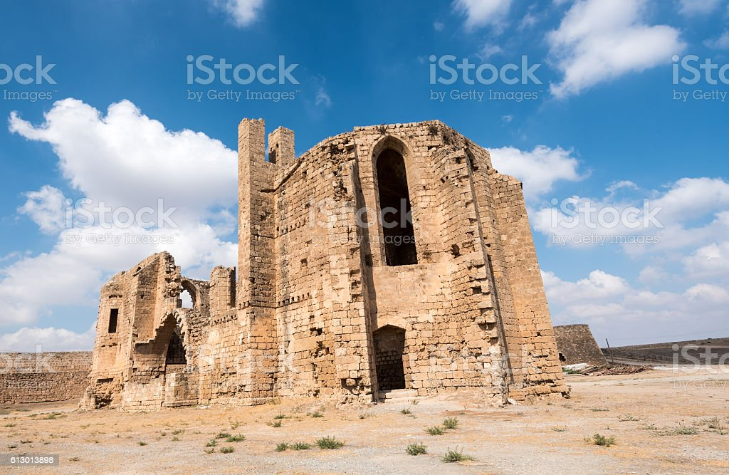 St Mary of the Carmelites church Famagusta Cyprus stock photo
