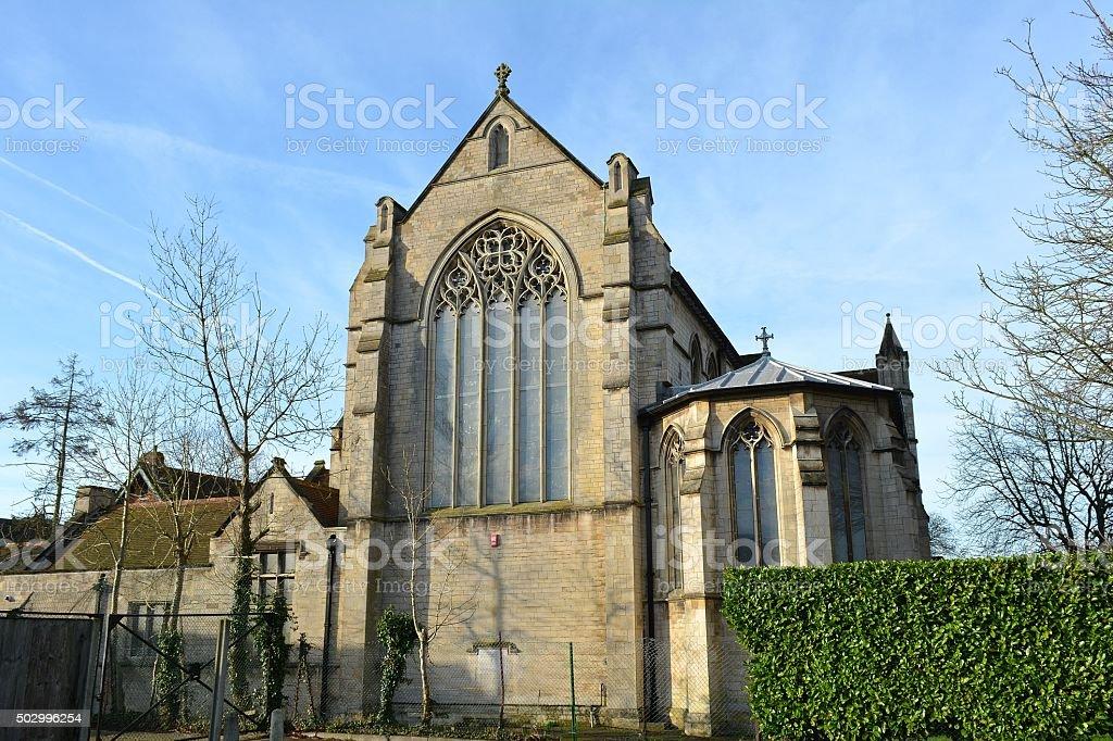 St Mary the Virgin and All Saint Church, Potters Bar stock photo